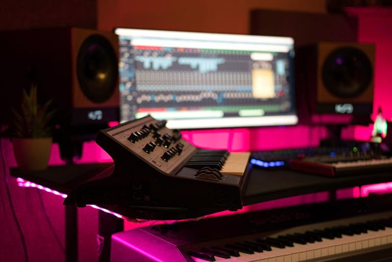 Mixing audio in the studio